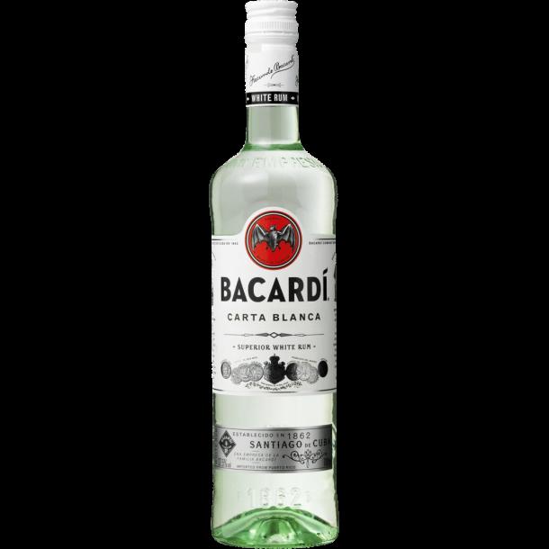 Bacardi Carta Blanca 70 CL. - 37,5%