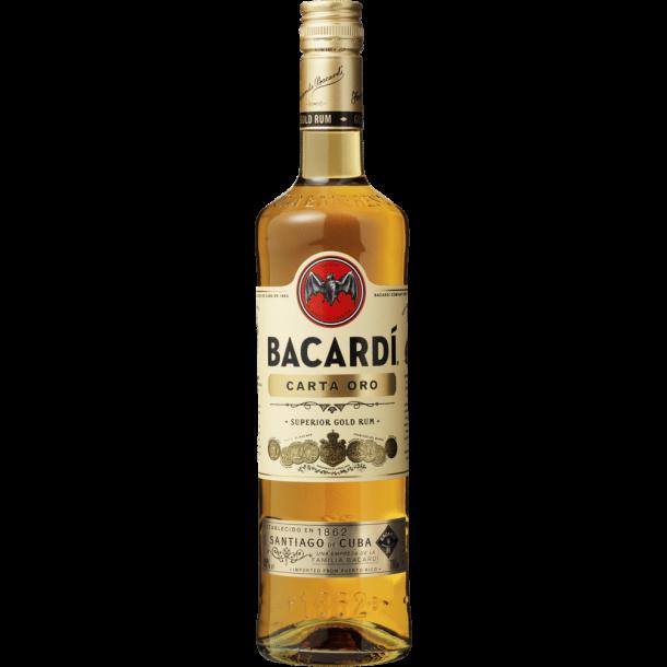 Bacardi Carta Oro 70 cl. - 37,5%