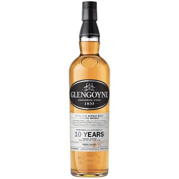 Glengoyne 10 års Highland Single Malt Whisky 40% 70CL