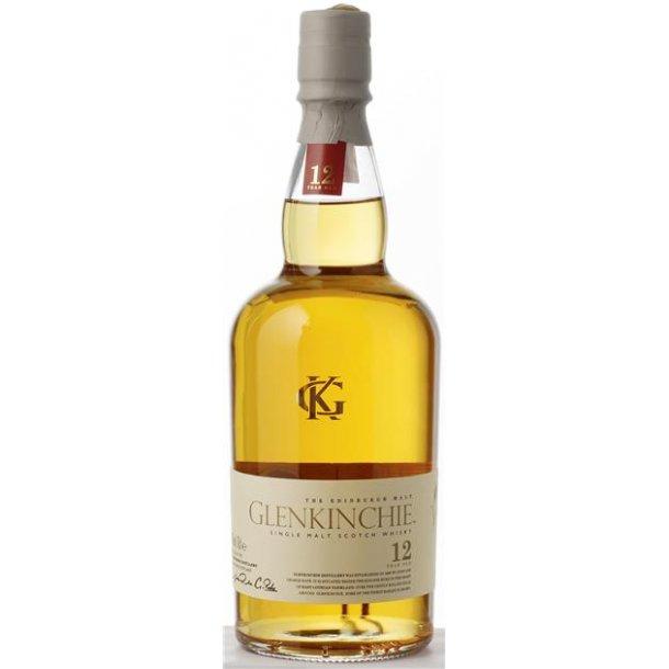 Glenkinchie Single Malt 12 års Whisky 43% 70CL