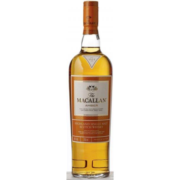 The Macallan Amber Single Malt Whisky 40% 70CL