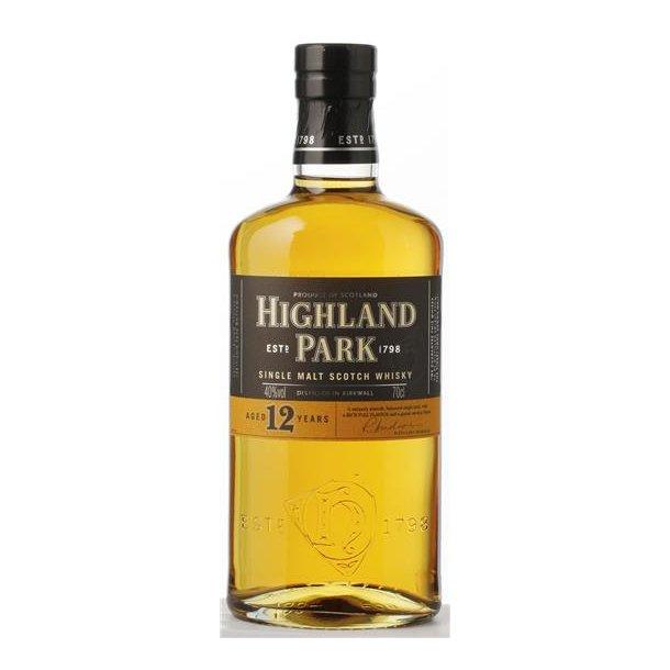 Highland Park 12 års Single Malt Whisky 40% 70CL