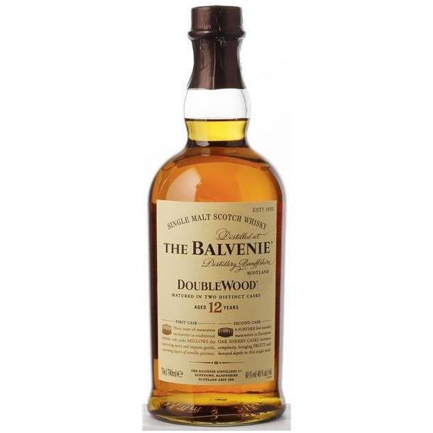Balvenie Doublewood 12 års Whisky 40% 70CL
