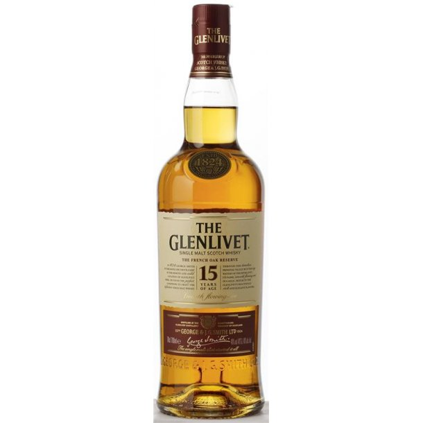 The Glenlivet 15års Whisky 40% 70CL