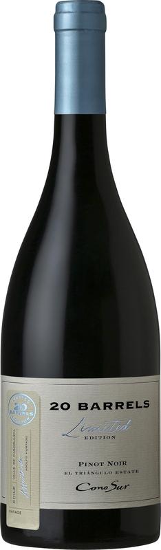 Cono Sur 20 Barrels Pinot Noir 2015 - 14% - CHILENSK RØDVIN - VIN MED MERE .DK