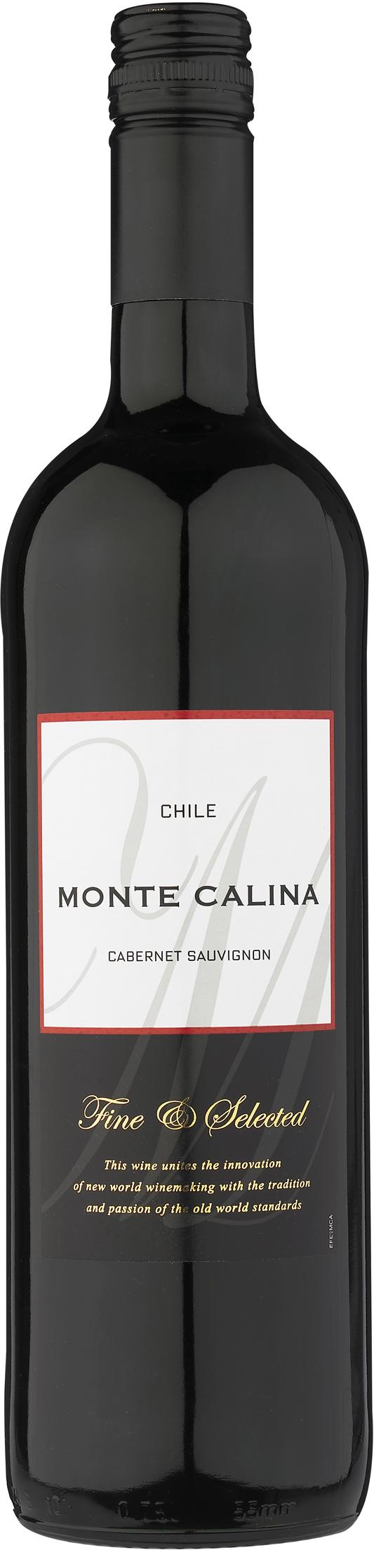 Monte Calina Cabernet Sauvignon - 13,5% - CHILENSK RØDVIN - VIN MED MERE .DK