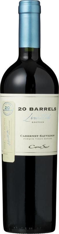 Cono Sur 20 Barrels Cabernet Sauvignon 2015 - 13,5% - CHILENSK RØDVIN - VIN MED MERE .DK