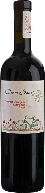 Cono Sur Cabernet Sauvignon Carmenere Syrah Organic - 12,5% - CHILENSK RØDVIN - VIN MED MERE .DK