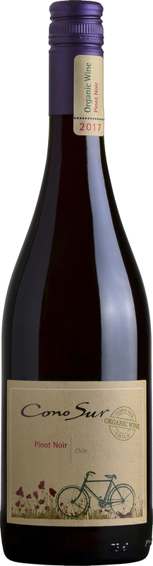 Cono Sur Organic Pinot Noir 2017 - 14% - CHILENSK RØDVIN - VIN MED MERE .DK
