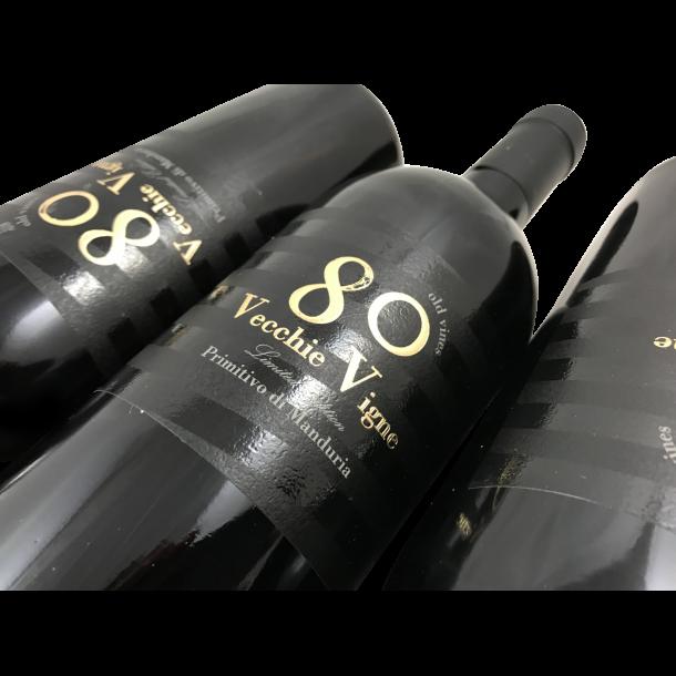 Primitivo di Manduria 80 Old Wines Vecchie Vigne Limited Edition