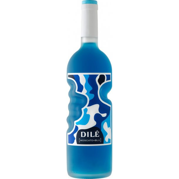 blå rødvin