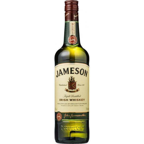 Kendte Jameson Irish Whiskey - 40% - IRSK WHISKEY - VIN MED MERE .DK KB-74