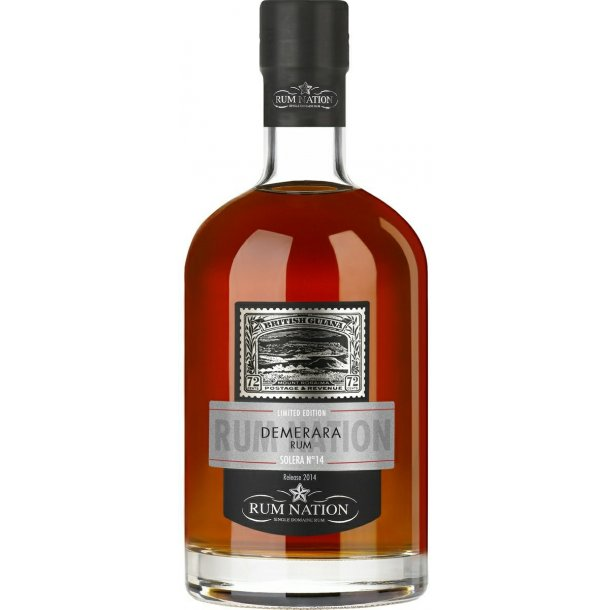 Rum Nation Demerara Solera N. 14 - 40%
