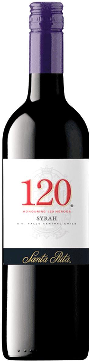 Santa Rita 120 Syrah - 13,5% - CHILENSK RØDVIN - VIN MED MERE .DK