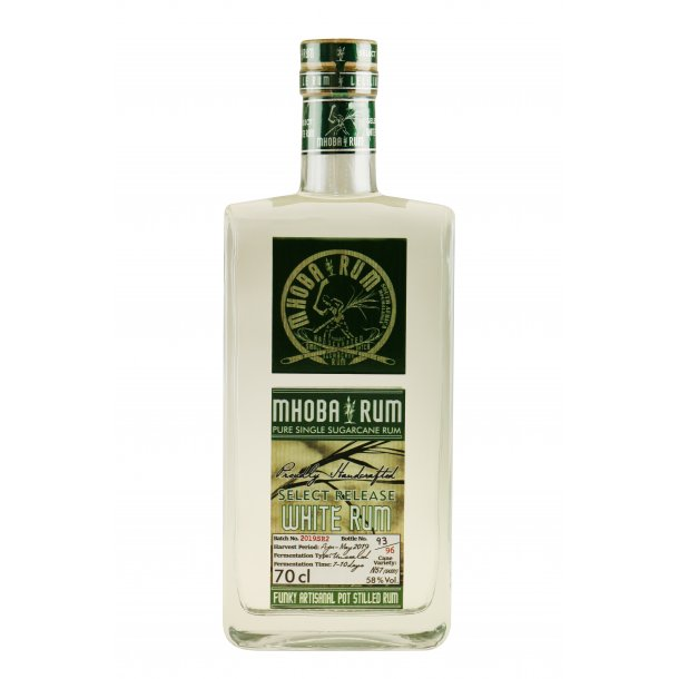 Mhoba Select Release White Rom 70 cl. - 58%