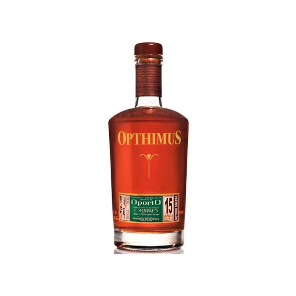 Opthimus Rom Barricas de Oporto Finish 15 år Dominikanske Republik 70 cl. - 43%