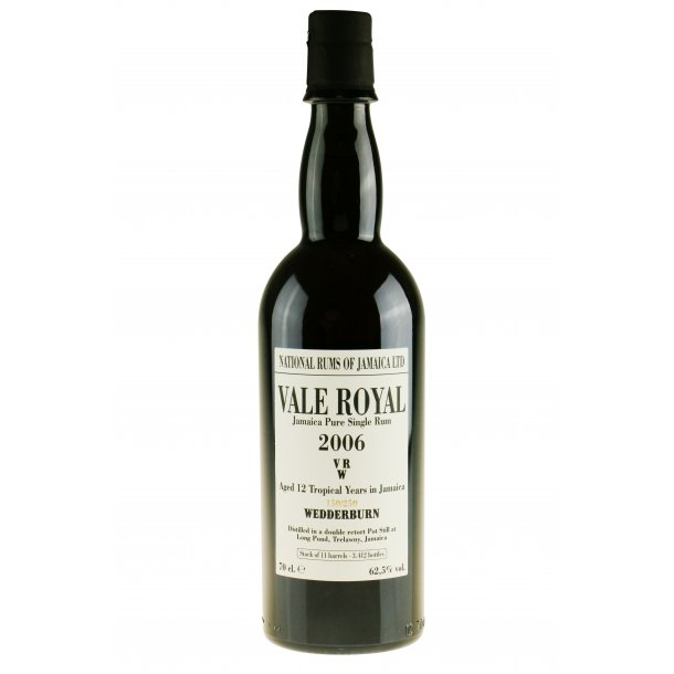 Velier Vale Royal VRW 2006 Rom - 62,5%