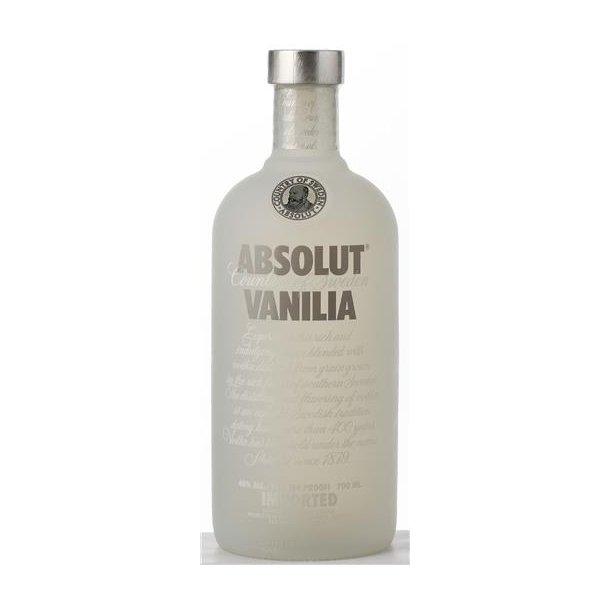 Absolut Vanilla vodka 40% 70CL.