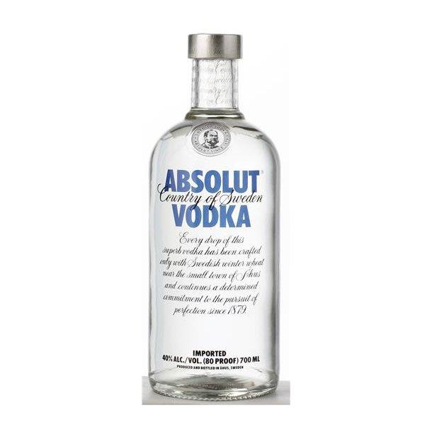 Absolut Vodka 40% 70CL.