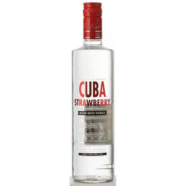 Cuba Strawberry Vodka