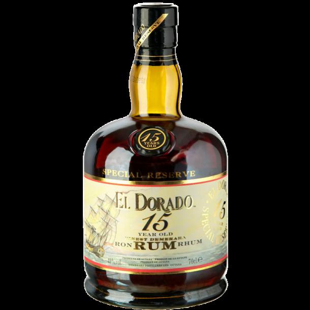 El Dorado 15 års rom 70 cl. - 43%