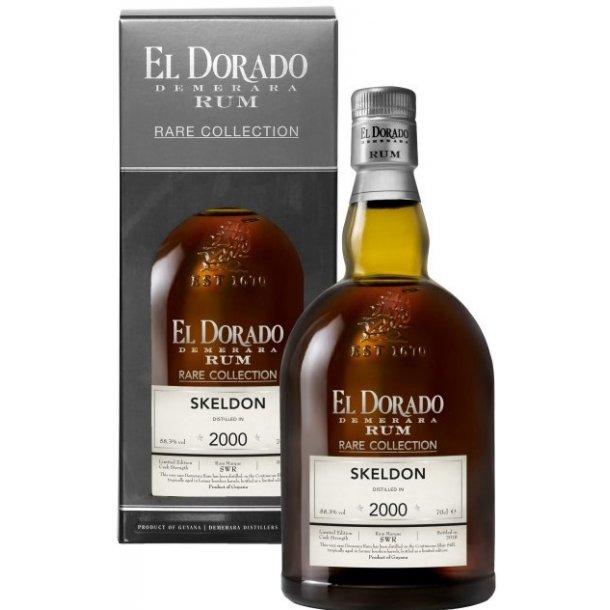 El Dorado rum Rare Collection Skeldon 70 cl. - 58,3%
