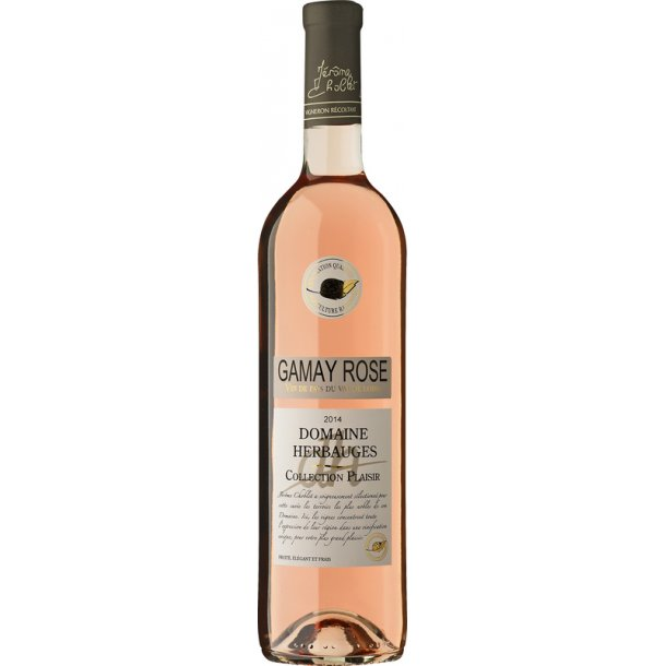 Domaine Herbauges Rose´ 2014