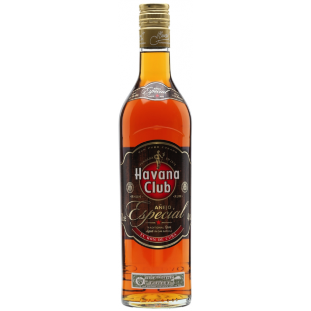 Havana Club Especial Rom 40% - 70 CL.