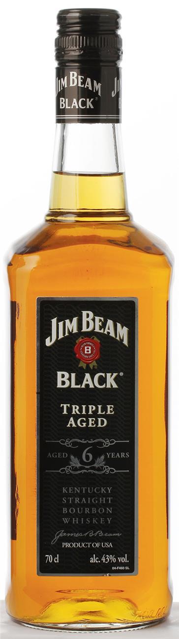 Jim Beam Bourbon Black 43 70cl