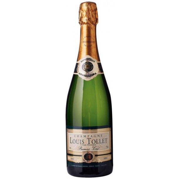 Champagne Louis Tollet 1er cru Sec.