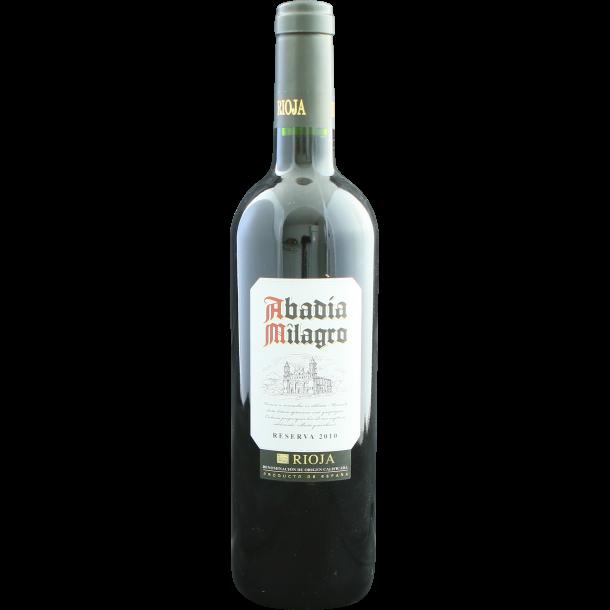 Abadia Milagro Rioja Reserva 2010