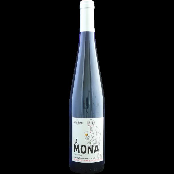 La Mona blanco semi-sød