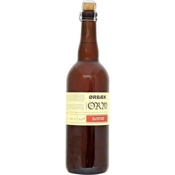 Ørbæk Økologisk Orm Blonde 75 cl.