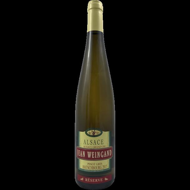 Jean Weingand Pinot Gris Hatschbourg d'Alsace Grand Cru 2015
