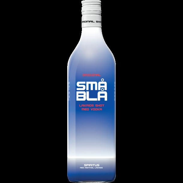 Små Blå Shot 16,4% - 1,0 Liter
