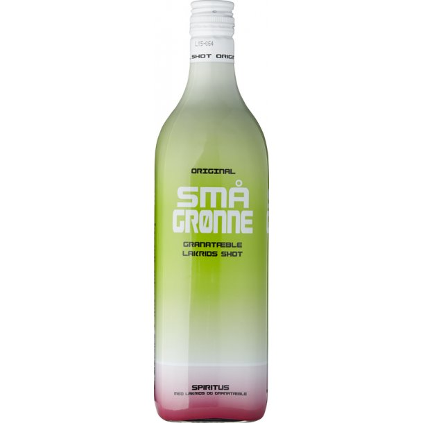 Små Grønne Shot 16,4% - 1,0 Liter