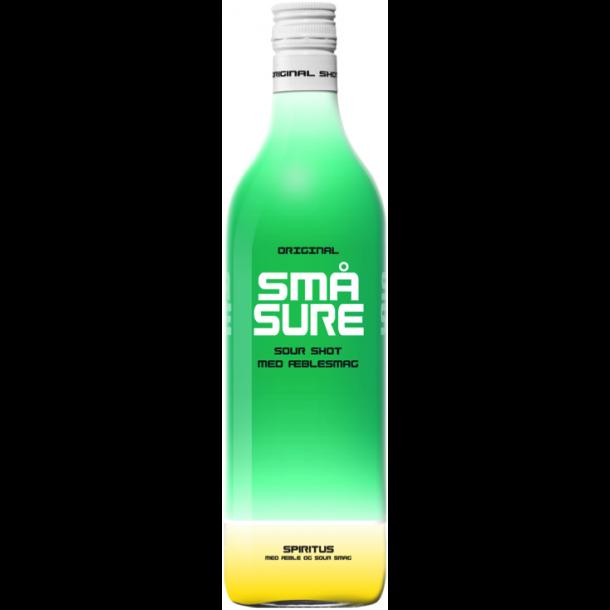 Små Sure Æble Shot 16,4% - 1,0 Liter