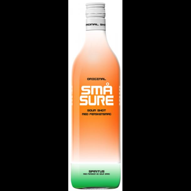 Små Sure Fersken Shot 16,4% - 1,0 Liter