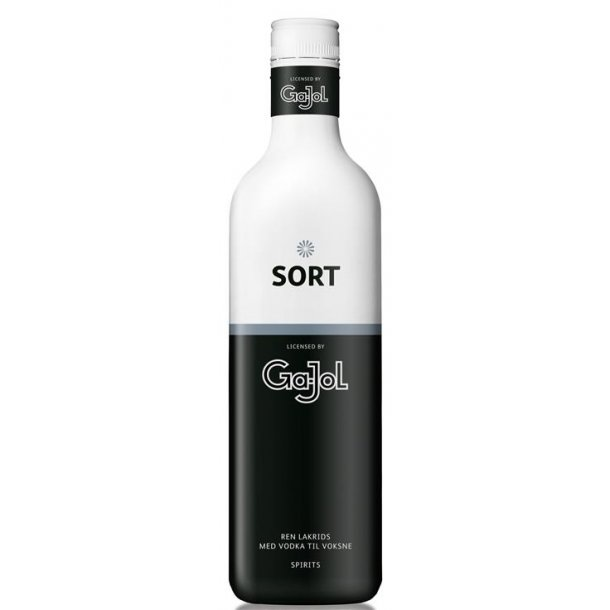 Sort Gajol Vodka Shot 30% 70CL