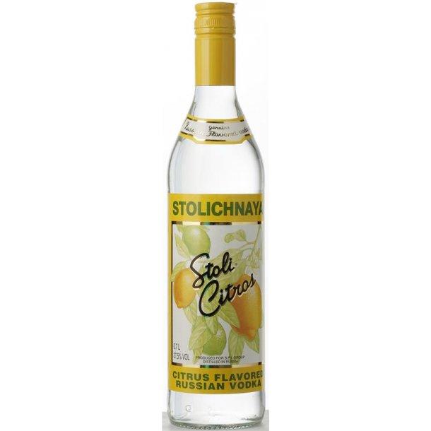 Stolichnaya Citrus Vodka 37,5% 70CL.