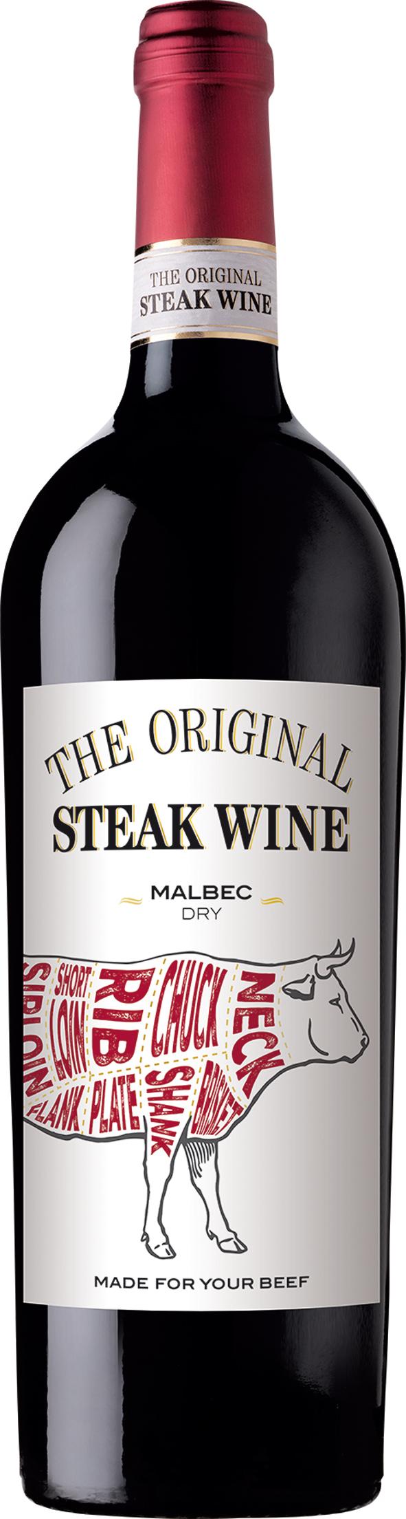 The Original Steak Wine Malbec - 13% - CHILENSK RØDVIN - VIN MED MERE .DK